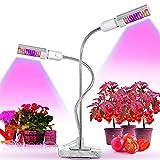 JiuXiuHeiShan-MY Lámpara de Planta 88 LED Full Spectrum Grow Light LED Ajustable 360 Grados, para sembrar el Cultivo de germinación y floración