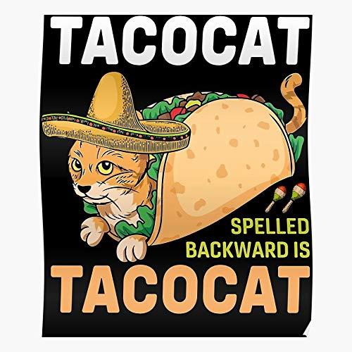 Sconosciuto Tacocat Food Lover And Quote Taco Tacos Cat Mayo...