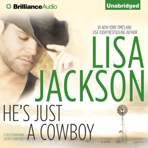 He's Just a Cowboy audiobook cover art