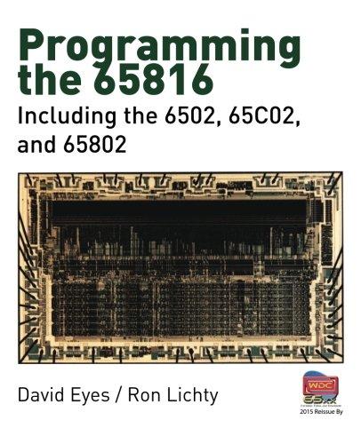 avis tableau processeurs professionnel Programmation 65816: y compris 6502, 65C02, 65802