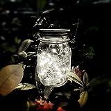 Solar Mason Jar Light 2 Meter 20 LED Lampen Fee Mason Solar String Licht Festival Garten Terrasse...