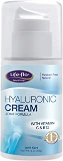 Life-Flo Hyaluronic Cream Joint Formula | HA Cream With MSM & Glucosamine | Helps Soothe & Refresh Joints & Revitalize Ski...