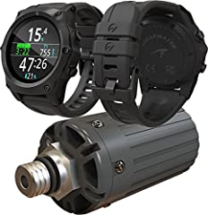 Nitrox Trimix decompression dive computer in wrist-watch form factor Bühlmann ZHL-16c algorithm with configurable Gradient Factors Supports optional wireless tank pressure transmitters Switchable audible and vibration alerts Supports Open-Circuit, Fi...
