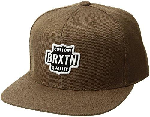 BRIXTON Unisex Gorra Garth, Unisex, 00815, Caqui Oscuro, Talla única