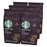 STARBUCKS Caffè Verona Dark Roast Ground Coffee, 200 g (Pack of 6)