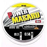 Asari - Power Masaru 300, Color Verde, Talla 0.140 mm
