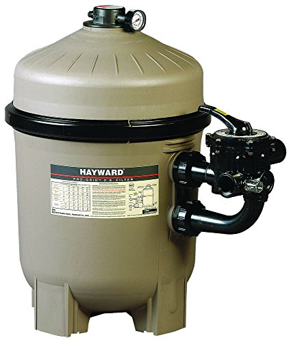 Hayward HAY-050-0344 - Filtro de diatomeas Progrid DE2420 s/válvula Gris/Negro