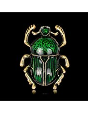Gergxi Insekt Broschnålar Smycken Kvinnor Lyxig Beetle Mode Dekoration Kostym Corsage