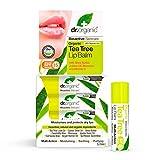 Dr.Organic Tea Tree Balsamo Labbra 5,7 ml