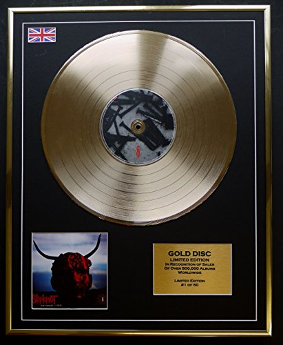 SLIPKNOT/Goldene Schallplatte Record Limitierte Edition/ANTENNAS TO HELL