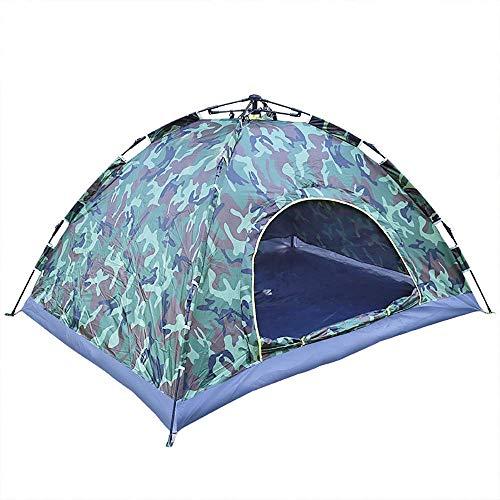 YUQIYU 2 Personas automática Tienda de campaña Impermeable Refugio Parasol Lona Exterior del pabellón de Fiesta en la Playa de Picnic montañismo Vacaciones de la Familia