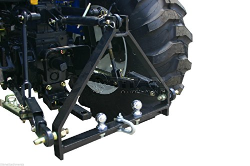 Titan Attachments 3 Point Tractor Drawbar Hitch for Kubota BX Trailer Compact