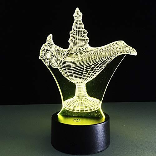 Cuento de Hadas lámpara mágica de Aladdin niños decoración del hogar Regalo...