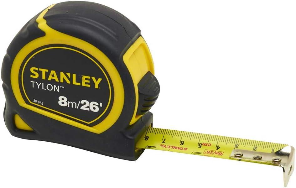 Stanley Tylon Tape Measure Length: 25mm 26ft Milwaukee Mall 8m Width: Max 84% OFF x