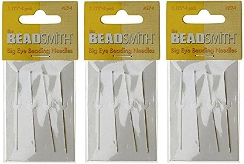 Beadsmith Big Eye Needles 2.125