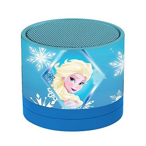Disney Frozen-Mini Altavoz Inalámbrico, Bluetooth, Batería Recargable (Lexibook BT010FZ) LEX160