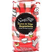 Harina de Trigo Santa Rita Reposteria, 12 paquetes de 1 KG