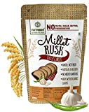 Multi-Millet Rusk - Chilli Garlic - No Maida or Sugar No added flavours Preservative Free - Pack of 4 (100gm each)