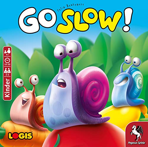 Pegasus Spiele 66110G - Go Slow *Empfohlen Kinderspiel 2020*