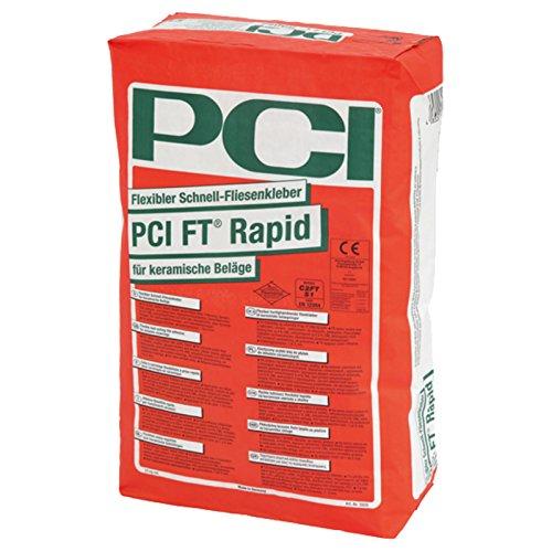 PCI FT Rapid 25kg Flexibler Schnell-Fliesenkleber für keramische Beläge