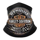 Dydan Tne Calentador de Cuello, Harley David-Son, máscara de Microfibra Suave para la Cabeza, Bufanda Facial para Clima frío de Invierno para Hombres y Mujeres NCK-538