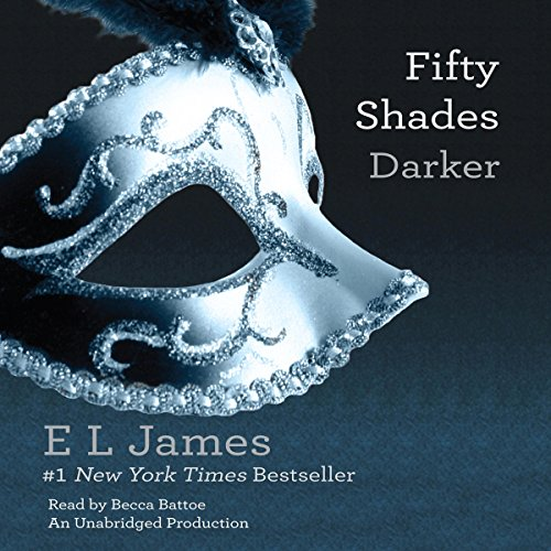 Fifty Shades Darker audiobook cover art
