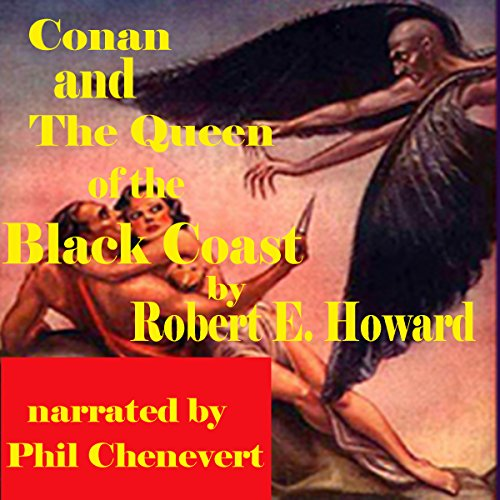 Conan and The Queen of the Black Coast audiobook cover art