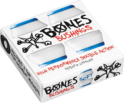 Bones Wheels Bushings 81A Hardcore Soft Set Lenkgummi, White