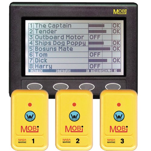 Find Discount Clipper MOBi Man Overboard Indicator w/3 Fobs CL-MOBI