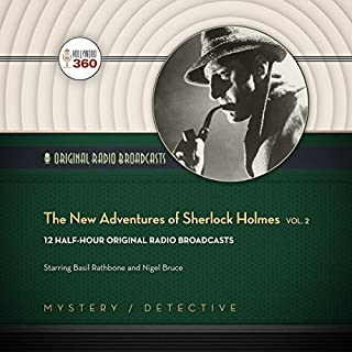 The New Adventures of Sherlock Holmes, Vol. 2 audiobook cover art