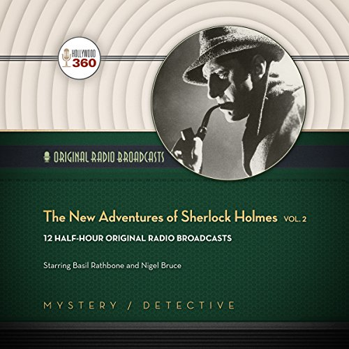 The New Adventures of Sherlock Holmes, Vol. 2 cover art