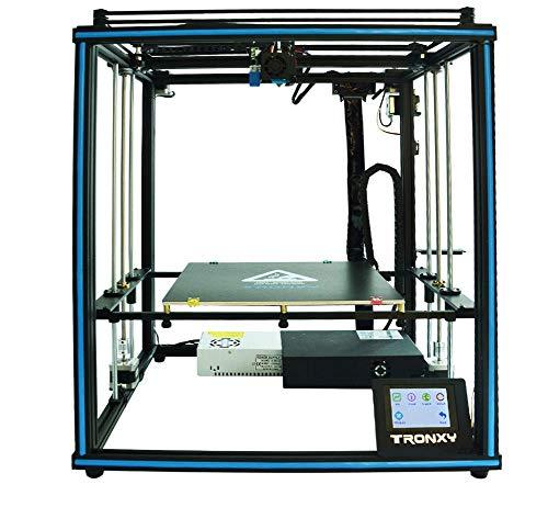 Stampante 3D Tronxy X5SA-400 Pro,area di stampa 400 x 400 x 400 mm,3.5'schermo Touch Screen Auto livellamento,Materiali di stampa: PLA, ABS, HIPS, macchina da assemblaggio DIY