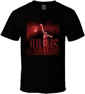 Julius Erving Philadelphia Basketball T Shirt