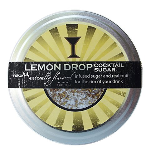 Rokz Lemon Drop Cocktail Sugar Rimmerz, 4 Ounce