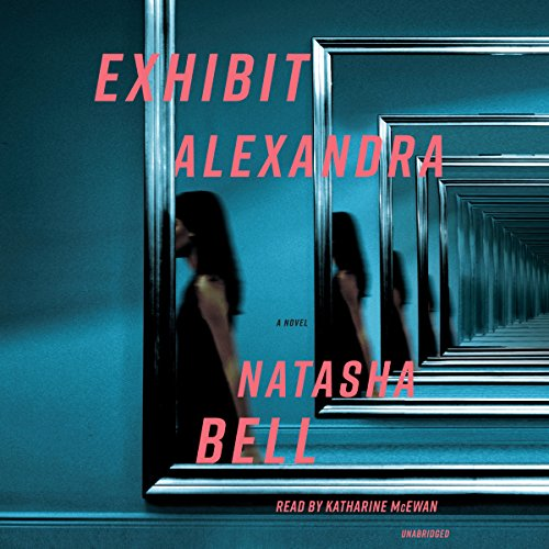 Exhibit Alexandra audiobook cover art