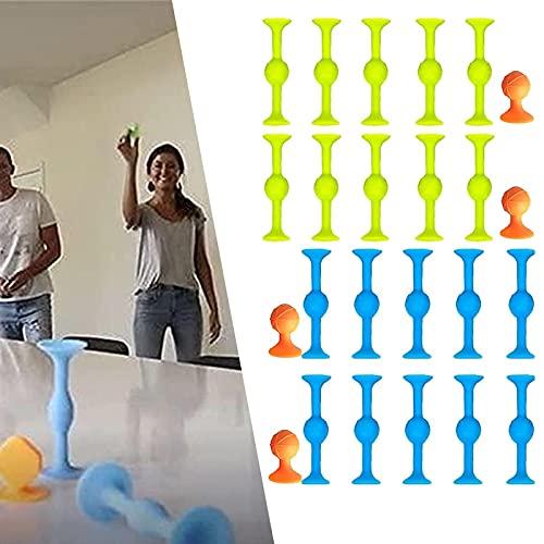 KFGJ Sucker Toys Wurfspiel, Sucker Toys, Sucker Toys Pop Darts, Sucker Toys Wurfspiel, Sucker Toys Dart Game, Sucker Toy Toss Game - für Mehrere Oberflächen Wie Glas L 24Pcs
