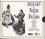 Wolfgang Amadeus Mozart Le Nozze Di Figaro The Marriage of Figaro EMI set reissued on Musical Heritage Society with Italian and English libretto Schwarzkopf, Moffo, Cossotto, Wachter, Taddei, Giulini