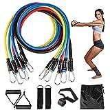Resistance Bands Set, 11er Pack Fitnessband Set...