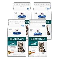 ヒルズ 猫用 w/d 消化・体重の管理 ドライ 4kg×4袋【ケース販売】