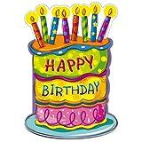 Susy Card 11286176 Glückwunschkarte Geburtstag, Torte, A4