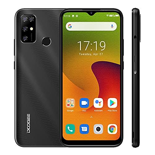 Android 11.0 Smartphone 4G, DOOGEE X96 PRO 2021 6.52 Pollici HD +, Octa-Core 4GB RAM + 64 ROM, 5400mAh Batteria Quad Camera 13MP + 2MP + 2MP + 2MP, Dual SIM Cellulari Offerte, Nero