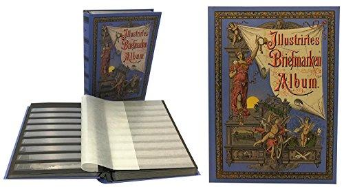 Prophila Collection Francobolli Album nostalgici II, 60 Pagine, Interno Nero