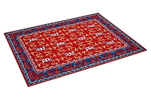 Plenty of surface area: even the largest setups will find plenty of room on top of this rug, which measures 6 1/2 feet LONG and 5 1/4 feet Wide Included carrying bag: The rug includes a carrying bag to maintain the quality of your rug between Set ups...