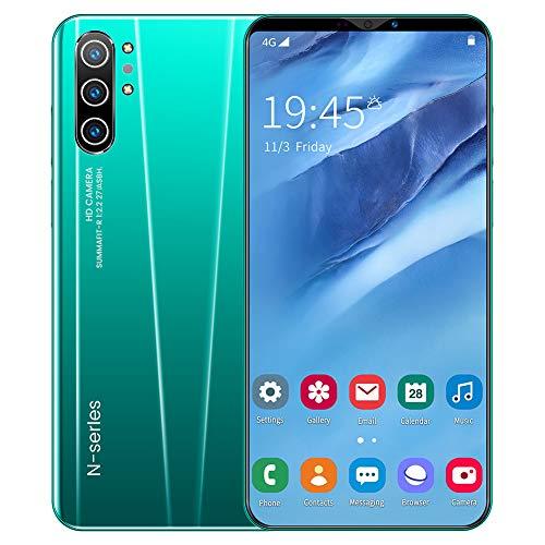 L&F Smartphone, Moviles Libres Pantalla 5.8 Pulgadas, Batería de 4000mAh, Cámara de 8MP + 16MP, Nano-SIM Dual, Capacidad 4GB + 32GB Android 9.1,A