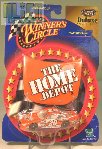 Winner's Circle Deluxe Collection Tony Stewart Home Depot Car