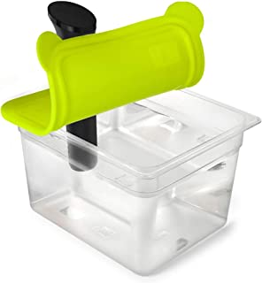 EVERIE Sous Vide Container 12 Quart EVC-12 with Collapsible Silicone Lid for Anova Nano Cookers (EVC-NANO-GJ)