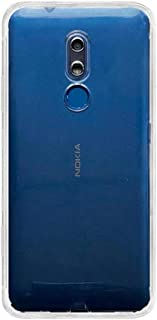 BuyFeb Back Cover for Nokia C3(Silicone/Transparent)