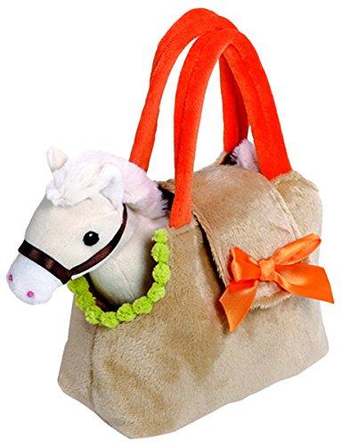 Venturelli Venturelli-18 cm for Horse Pet Bag Cavallo Peluches Giocattolo 711, Multicolore, 8004332206880