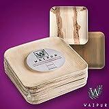 Zoom IMG-2 waipur piatti in foglia di