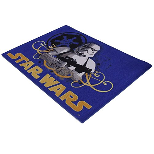 GUIZMAX Compatible avec Tapis Enfant Star Wars 133 x 95 cm Disney Stormtrooper
